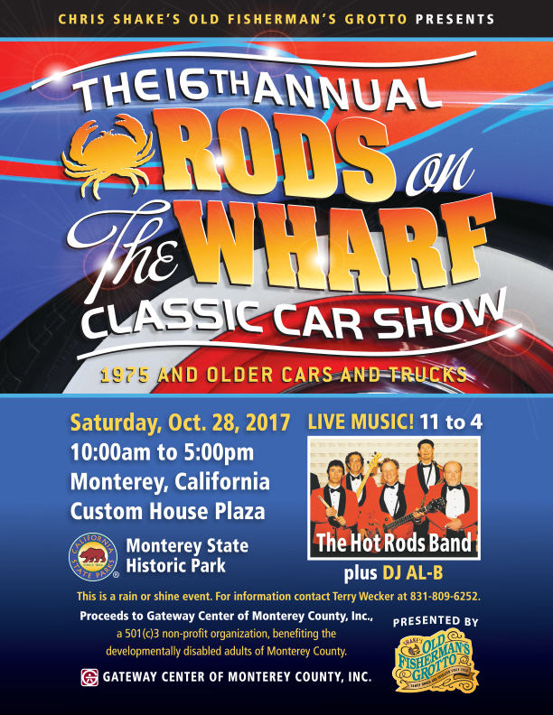 16th Annual Rods on the Wharf Classic Car Show