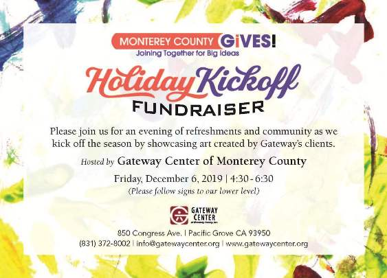 Monterey County Gives Holiday Kickoff Fundraiser